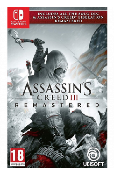 Switch Assassin`s Creed III Remastered + Assassin`s Creed Liberation Remastered
