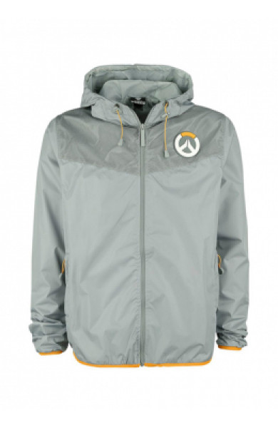 Overwatch Logo Windbreaker Gray - velicine L,M,S
