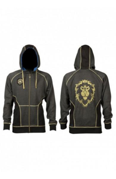 World Of Warcraft Alliance Classic Premium Zip-Up Hoodie - velicina S