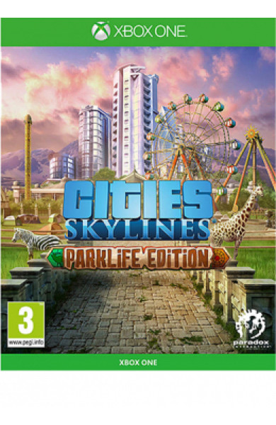 XBOXONE Cities: Skylines - Parklife Edition Disk