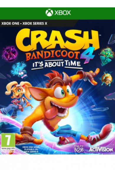 XBOXONE Crash Bandicoot 4 It's about time Disk