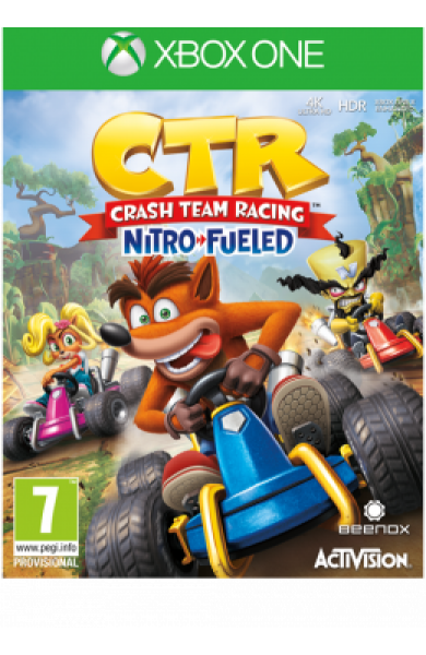XBOXONE Crash Team Racing Nitro-Fueled Disk