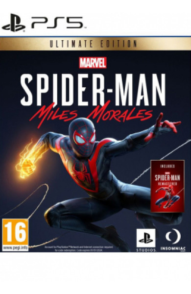 PS5 Marvel's Spider-Man Miles Morales Ultimate edition Disk