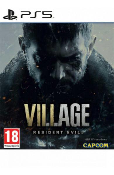 PS5 Resident Evil Village Disk