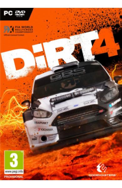 PC Colin McRae Dirt 4 Disk