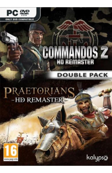 PC Commandos 2 & Praetorians: HD Remaster Double Pack Disk