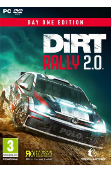 PC DiRT Rally 2.0 Day One Edition Disk