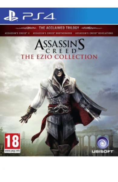 PS4 Assassin's Creed Ezio Collection (Assassin's Creed 2+Brotherhood+Revelations) Disk