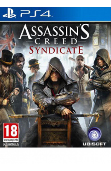 PS4 Assassin's Creed Syndicate Standard Edition Disk