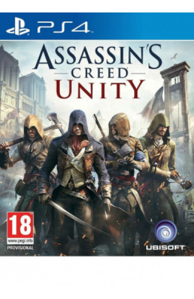 PS4 Assassin's Creed Unity Disk