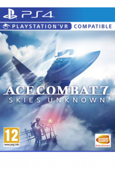PS4 Ace Combat 7 Disk