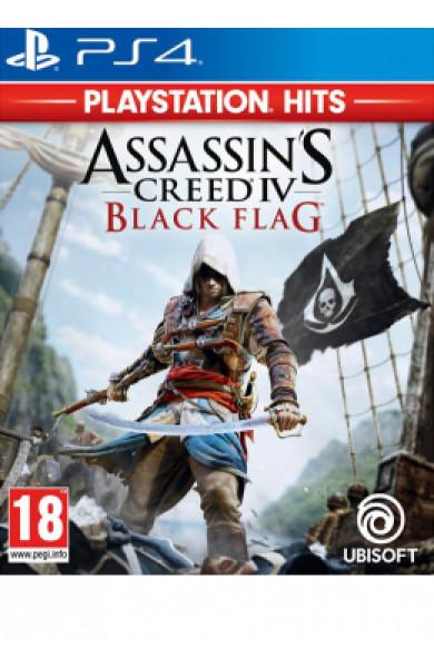PS4 Assassin's Creed 4 Black Flag - Playstation Hits Disk