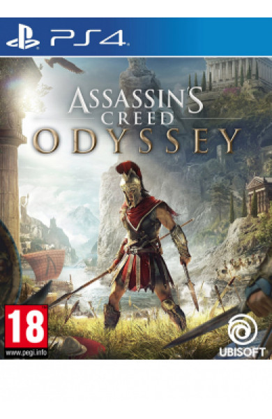PS4 Assassin's Creed Odyssey Disk
