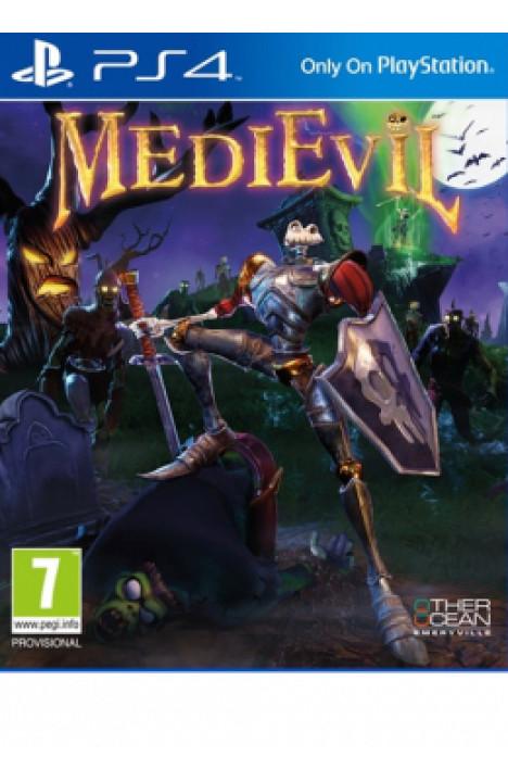 PS4 Medievil Disk