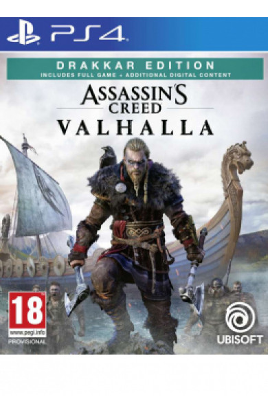 PS4 Assassin's Creed Valhalla Disk