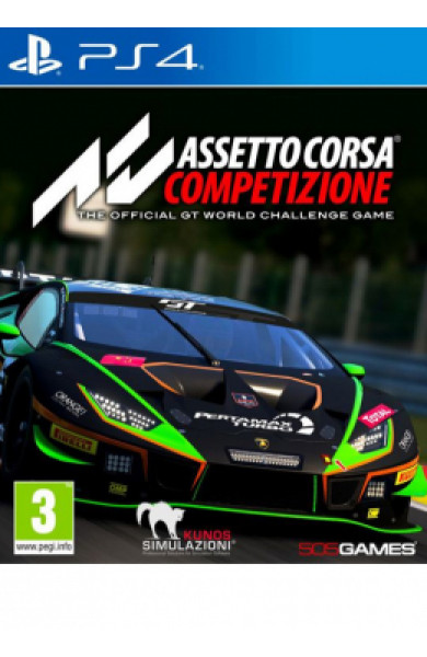 PS4 Assetto Corsa Competizione Disk