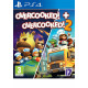 PS4 Overcooked + Overcooked 2 Double Pack Disk
