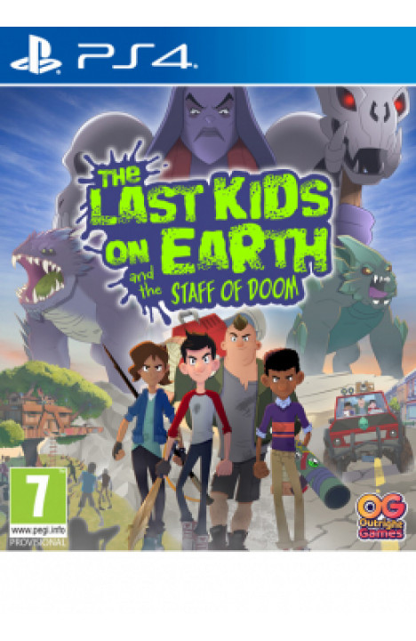 PS4 The Last Kids on Earth and the Staff of Doom Disk