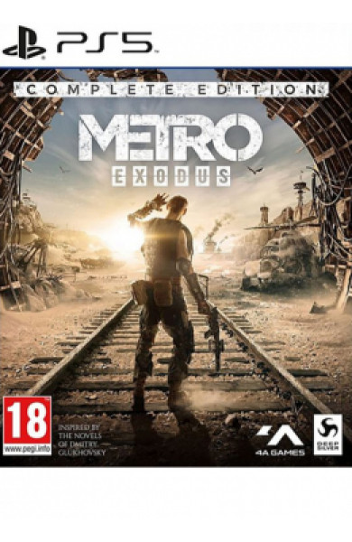 PS5 Metro Exodus - Complete Edition Disk