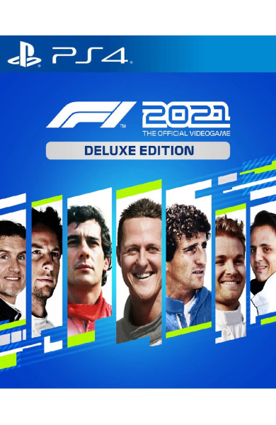 F1 2021: Deluxe Edition PS4 & PS5