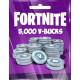 Fortnite 5000 V-Bucks Epic Games PC