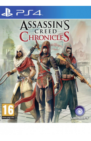PS4 Assassin's Creed Chronicles Pack Disk
