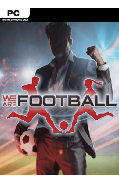 WE ARE FOOTBALL PC - Steam Global CD KEY