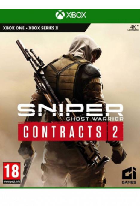 XBOXONE/XSX Sniper Ghost Warrior Contracts 2 Disk