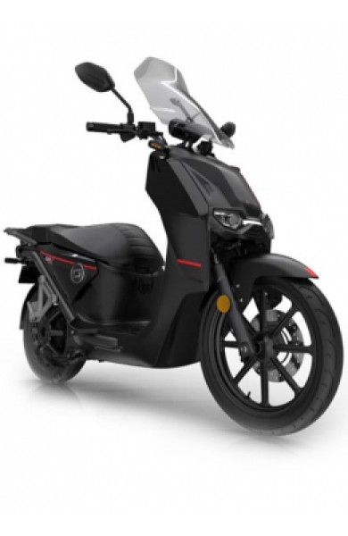 Super Soco CPX Electric Motorcycle Black