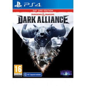 PS4 Dungeons and Dragons: Dark Alliance - Day One Edition Disk