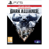 PS5 Dungeons and Dragons: Dark Alliance - Day One Edition Disk