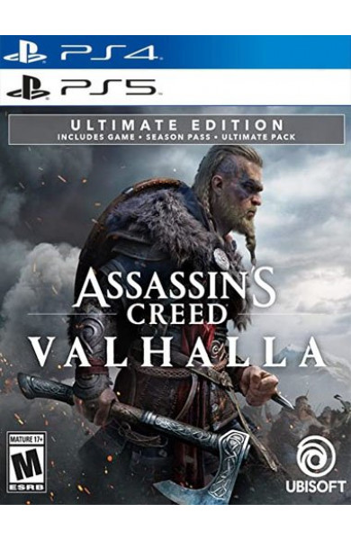 Assassins Creed Valhalla Ultimate PS4 And PS5