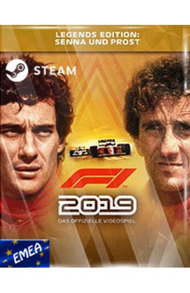 F1 2019 LEGENDS EDITION STEAM KEY [EMEA]