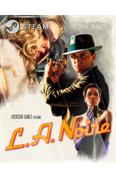 L.A. NOIRE (COMPLETE EDITION) STEAM KEY [GLOBAL]