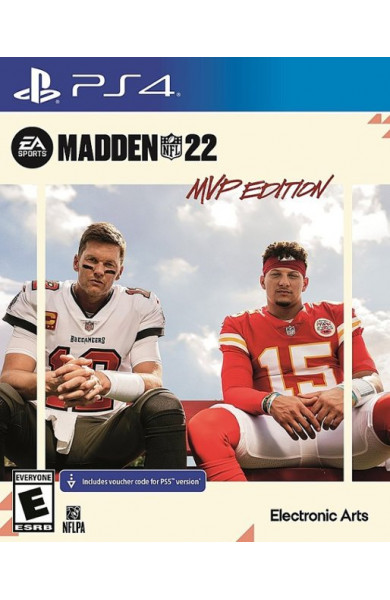 Madden NFL 22 MVP Edition PS4 & PS5