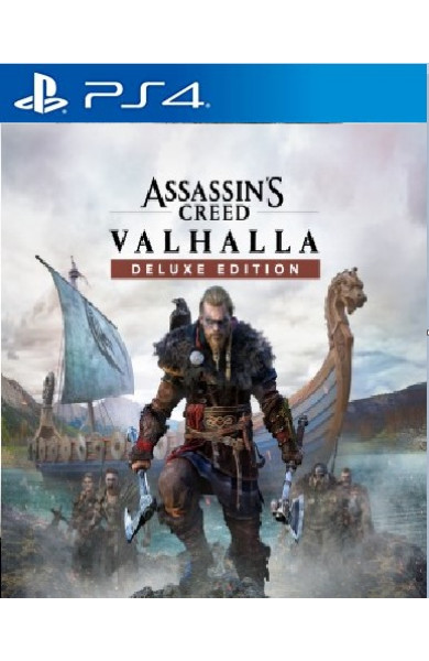 Assassins Creed Valhalla Deluxe PS4 & PS5