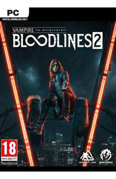 VAMPIRE: THE MASQUERADE - BLOODLINES 2 PC