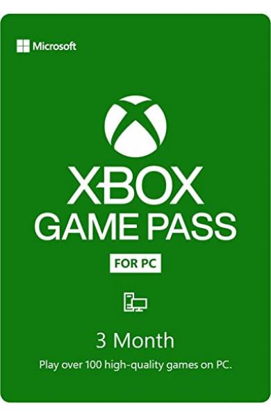 Xbox Game Pass PC 3 Meseca TRIAL | Region USA/EU