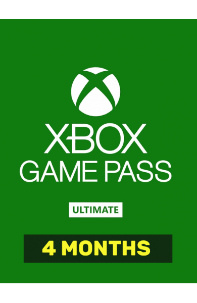 Xbox Game Pass Ultimate 4+1 MONTHS + EA PLAY