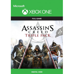 Assassins Creed Triple Pack XBOX