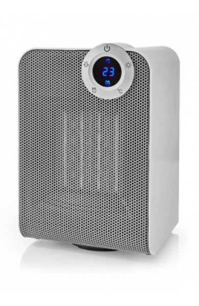 Nedis Wi-Fi Smart Fan Heater Compact Thermostat Oscillation 1800 W White