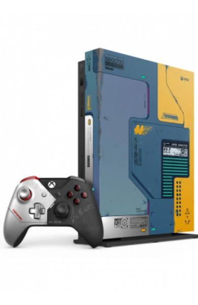 XBOXONE X Console 1TB Cyberpunk 2077 Limited Edition