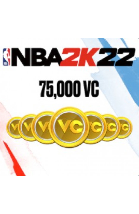 75,000 VC NBA 2k22