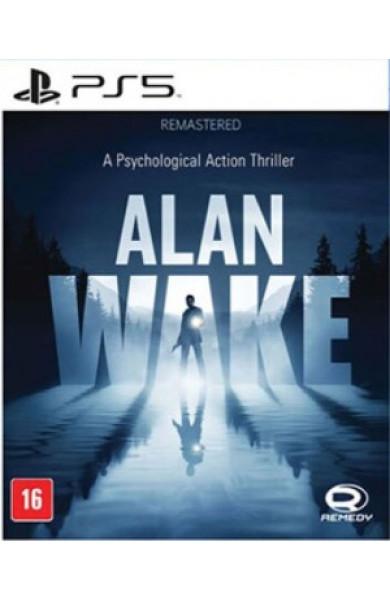 Alan Wake Remastered PS5 PreOrder