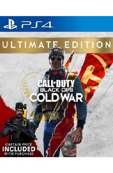 Call Of Duty: Black Ops Cold War - Ultimate Edition PS4 & PS5
