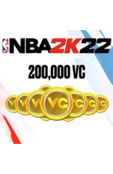 200,000 VC NBA 2k22