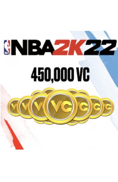 450,000 VC NBA 2k22