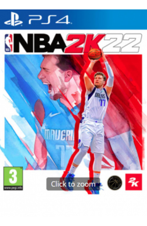 PS4 NBA 2K22 Disk