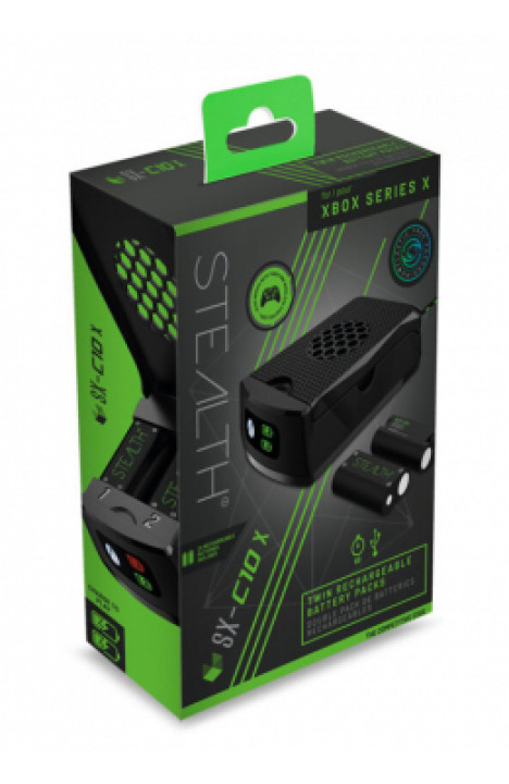 Stealth Series X Twin Rechargeable Battery Packs