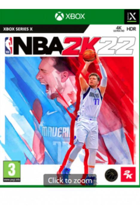 XSX NBA 2K22 Disk